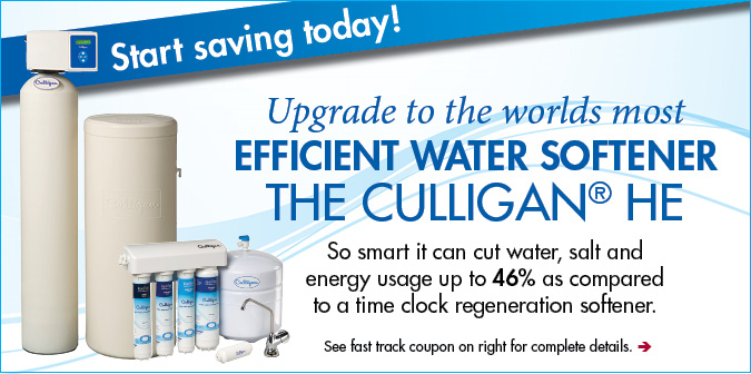 Culligan He Softener Purchase Offer